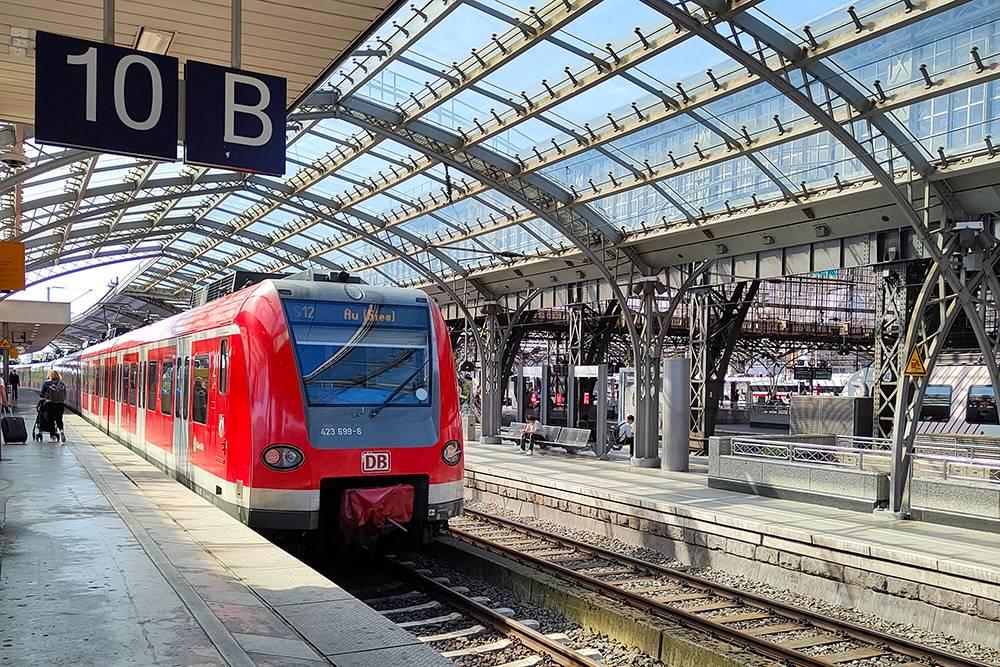 В Германии очень современные поезда. В России такие пока не встретить
