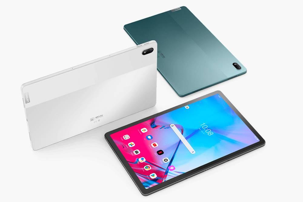 У планшета Lenovo TapP11 5G три расцветки: темно-бирюзовая, белая и темно-серая. Источник: «Леново»
