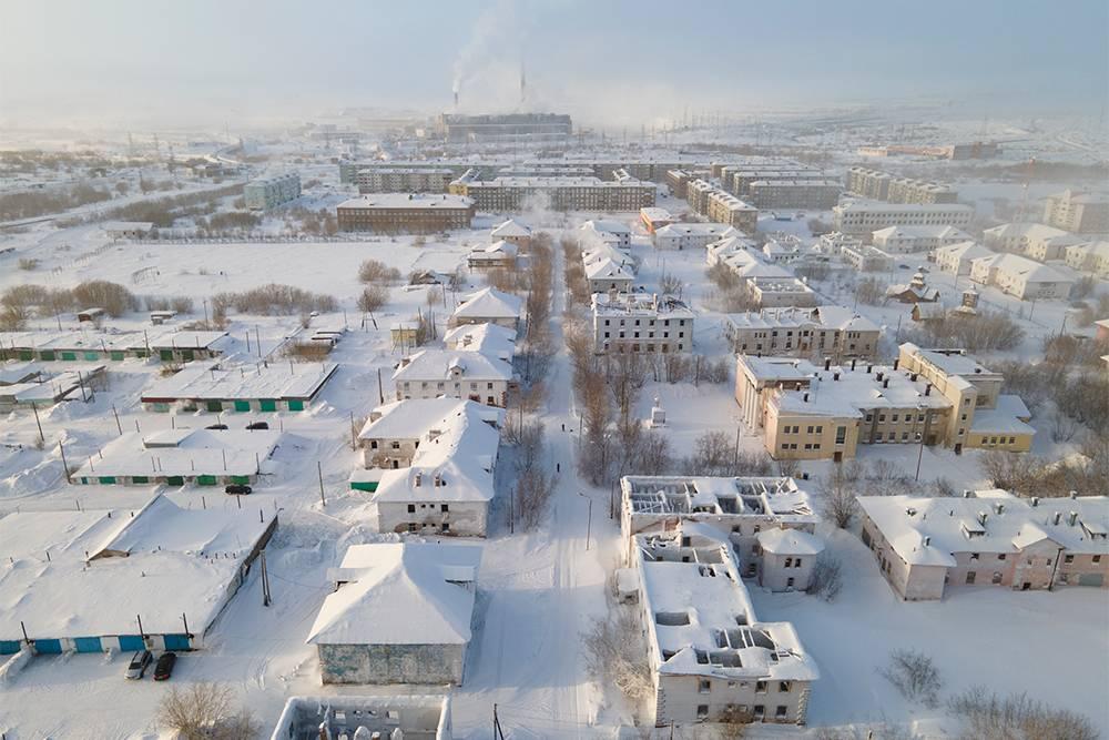 Поселок Северный с воздуха