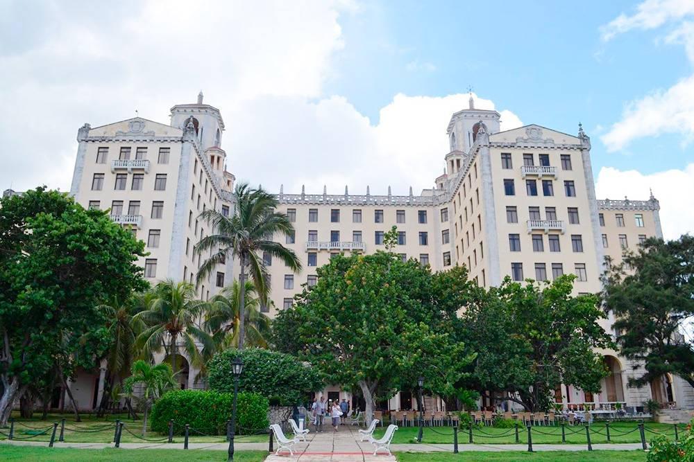 Отель Nacional de Cuba. Здесь останавливались Фрэнк Синатра и Эрнест Хемингуэй