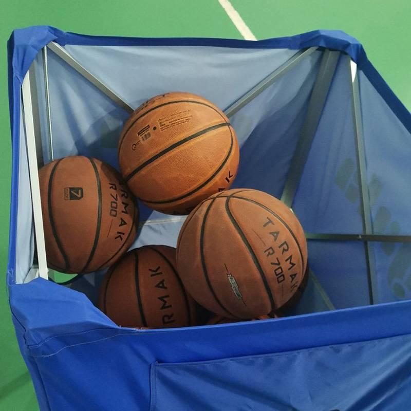 Сходил на тренировку по баскетболу