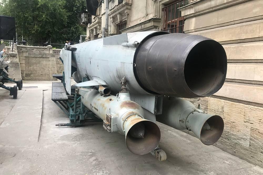 Крылатая ракетаП-35, которую устанавливают на кораблях