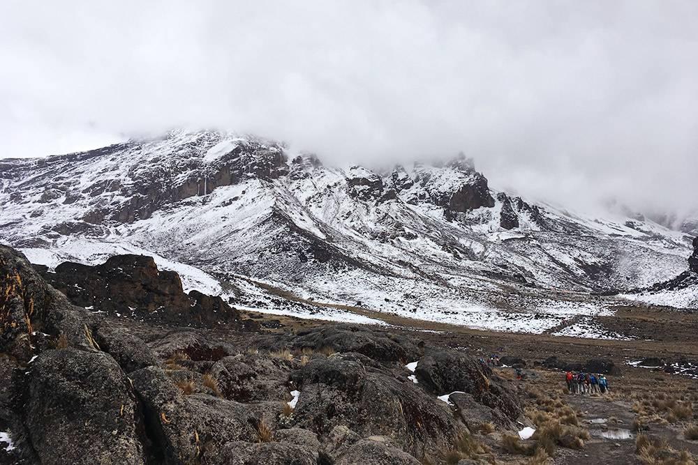 Чем ближе к вершине Килиманджаро, тем меньше вокруг вас чего-то живого и тем холоднее