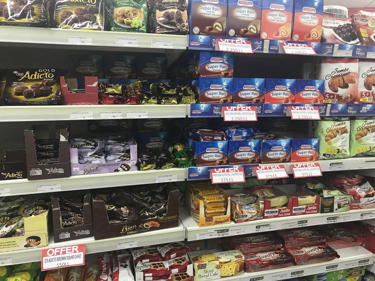 Большинство сладостей в супермаркетах — импортные