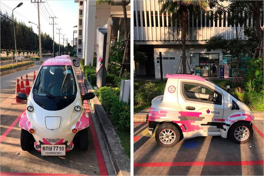 Если и брать автомобиль в Бангкоке, то только такой