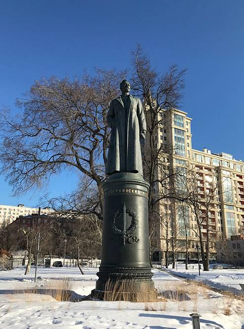 Памятник Феликсу Дзержинскому переехал с Лубянской площади в парк «Музеон»