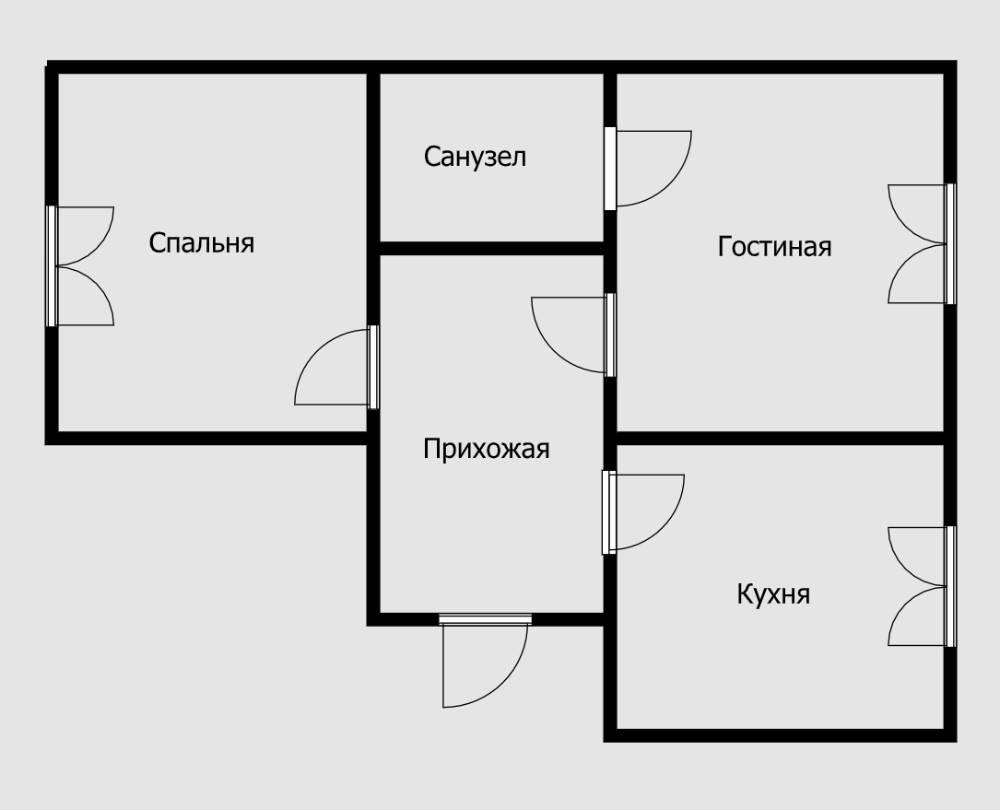 Переносить вход в санузел в гостиную или на кухню нельзя категорически. Ни при каких обстоятельствах. В спальню — нельзя, если санузел в квартире один