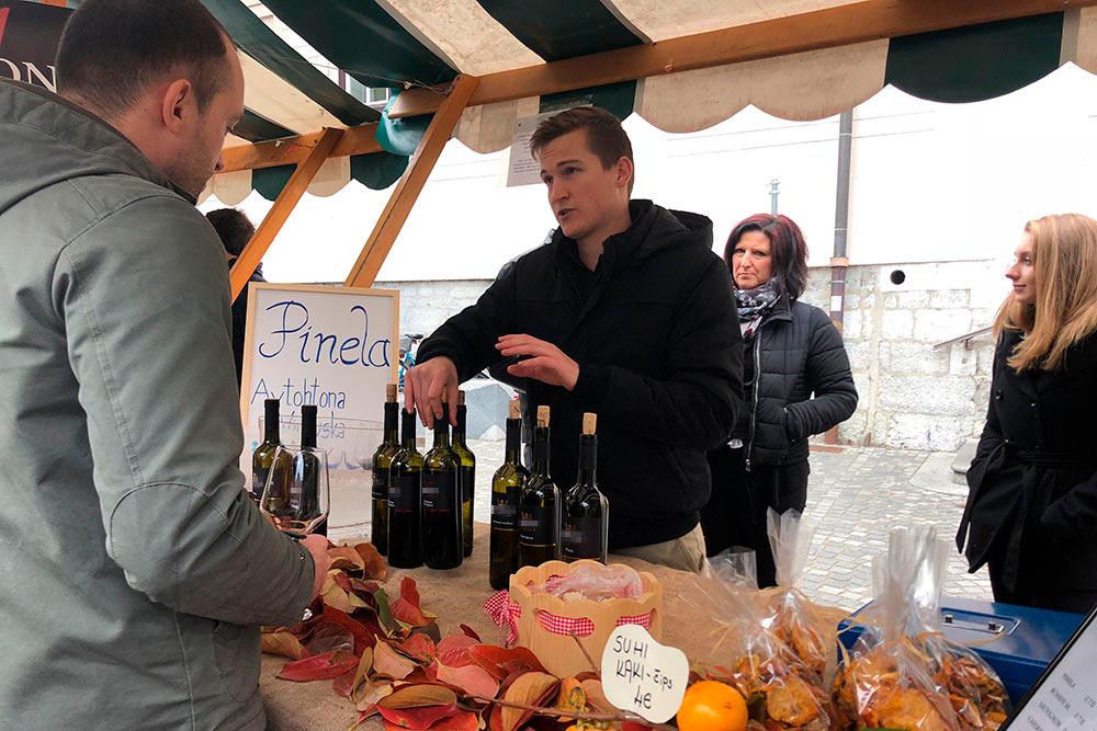 На Мартинов день в Любляну приезжают сами виноделы