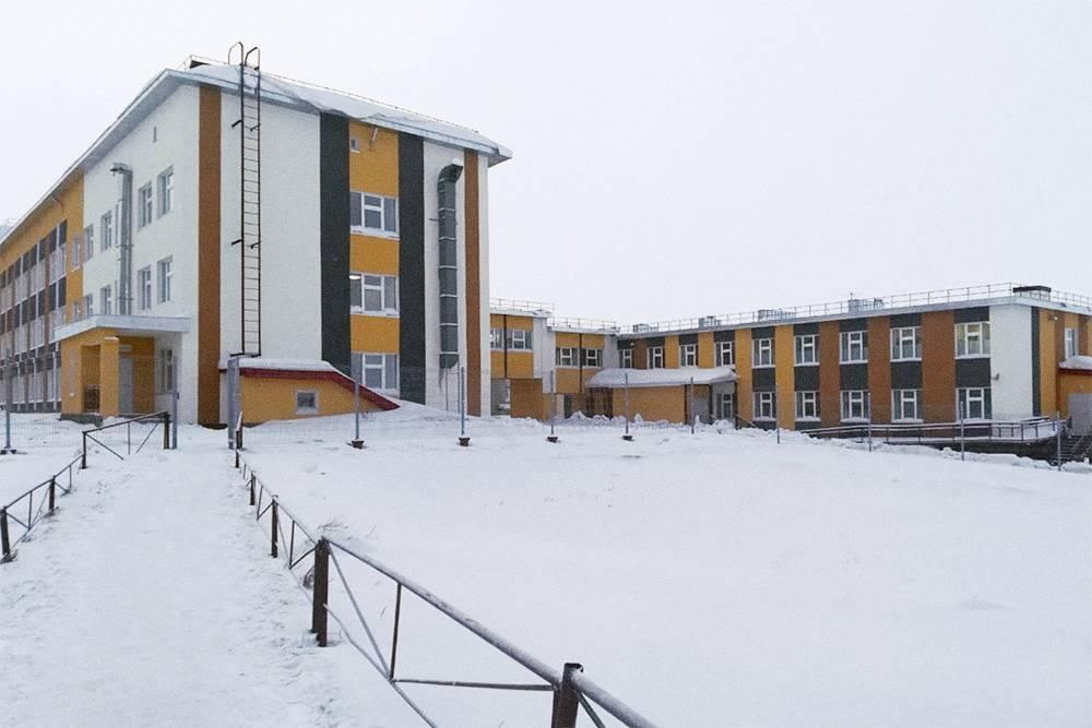 Чаунская районная больница в Певеке. Недавно в ней сделали ремонт за 450 млн рублей