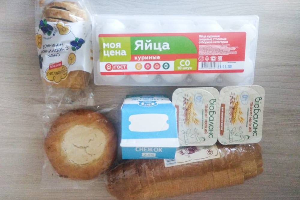 Мои покупки в супермаркете