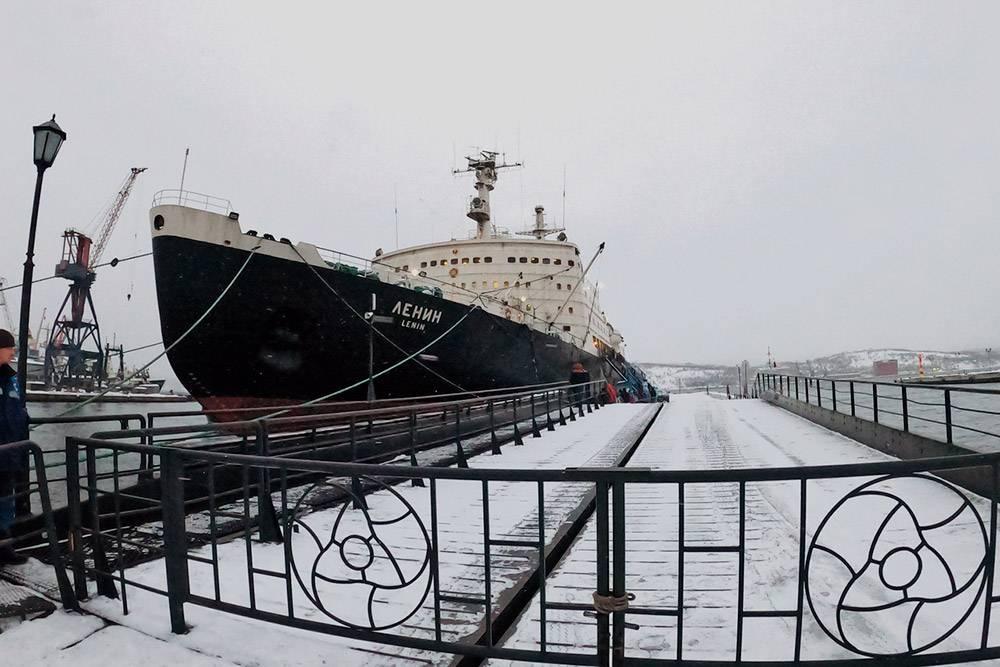 «Ленин» — первый в мире атомный ледокол. Он использовался около 30 лет, а теперь стал музеем