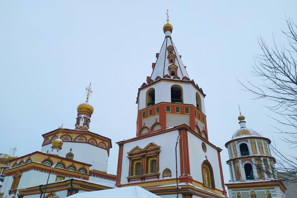 По моему мнению, это самый красивый собор Иркутска