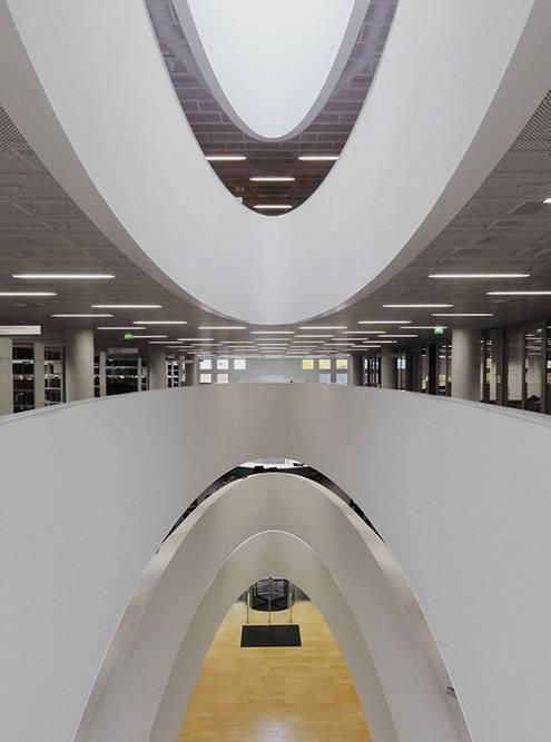 Библиотека университета Хельсинки. Фото: pedroko_75/Flickr