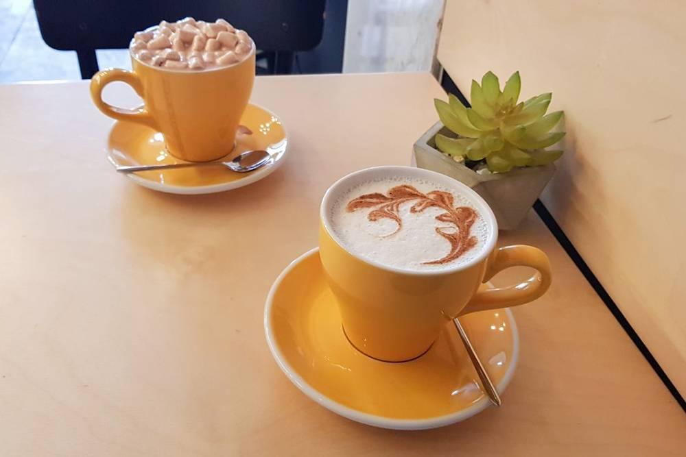 Пьем кофе в «Кофекульте»