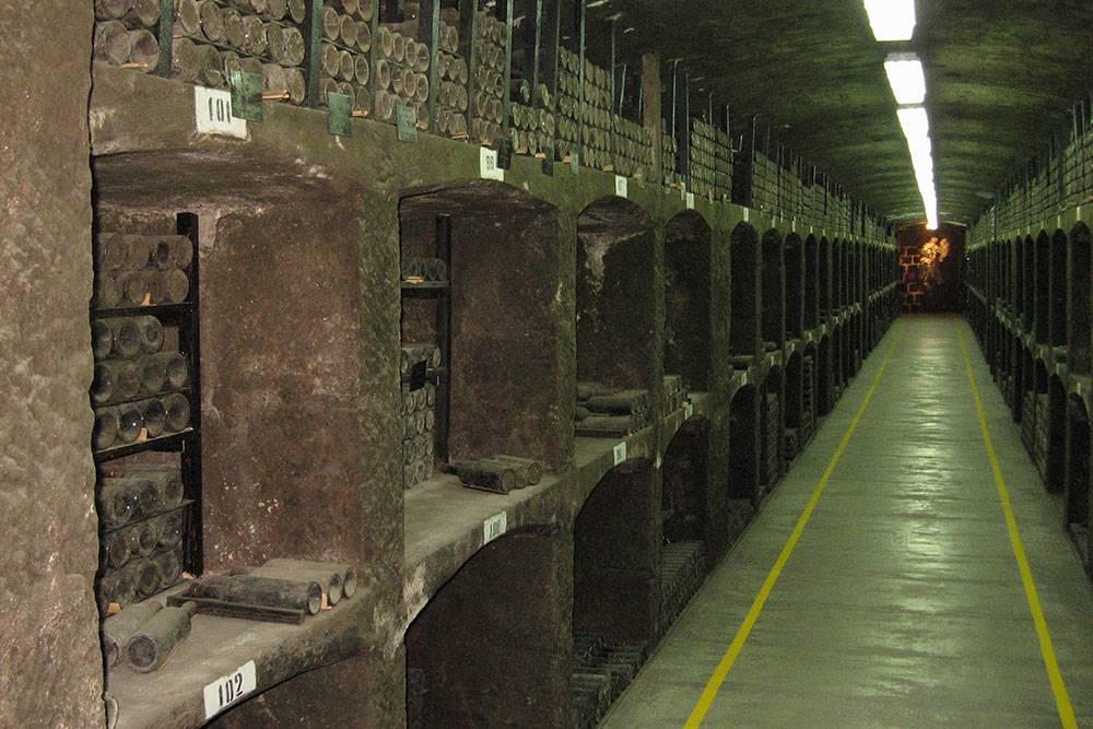 В винной коллекции «Массандры» больше миллиона бутылок со всего мира