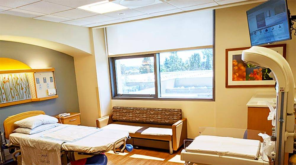 Фото палаты с сайта госпиталя
