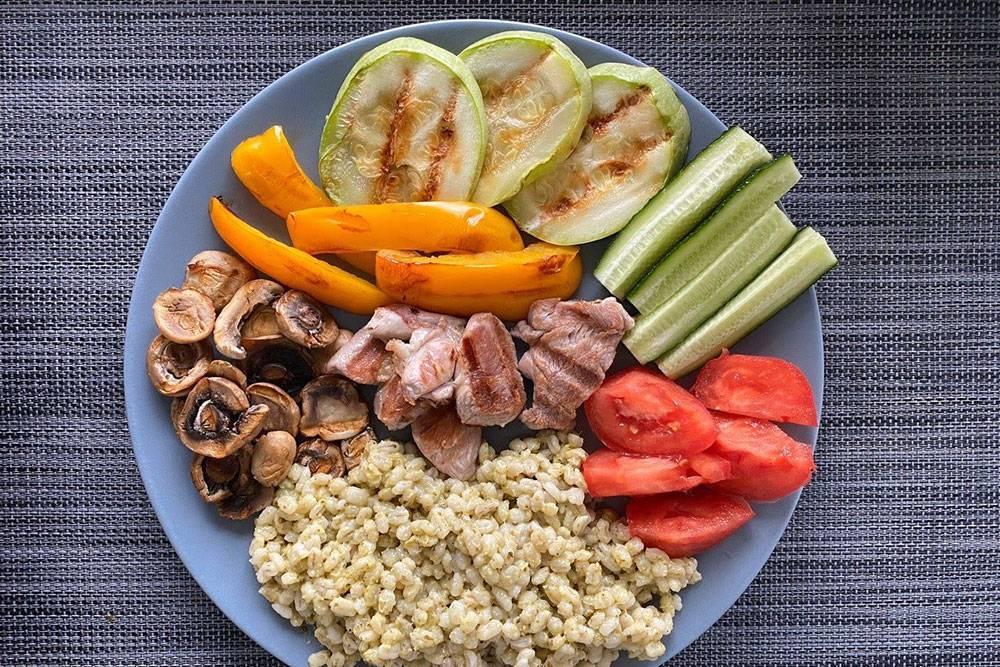Перловка с индейкой и овощами — рекомендую