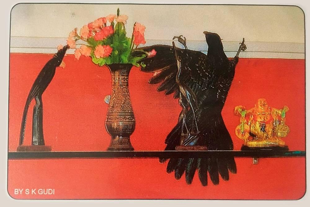 Я благодарю за любые открытки, хотя эта из Индии вызвала смешанные чувства