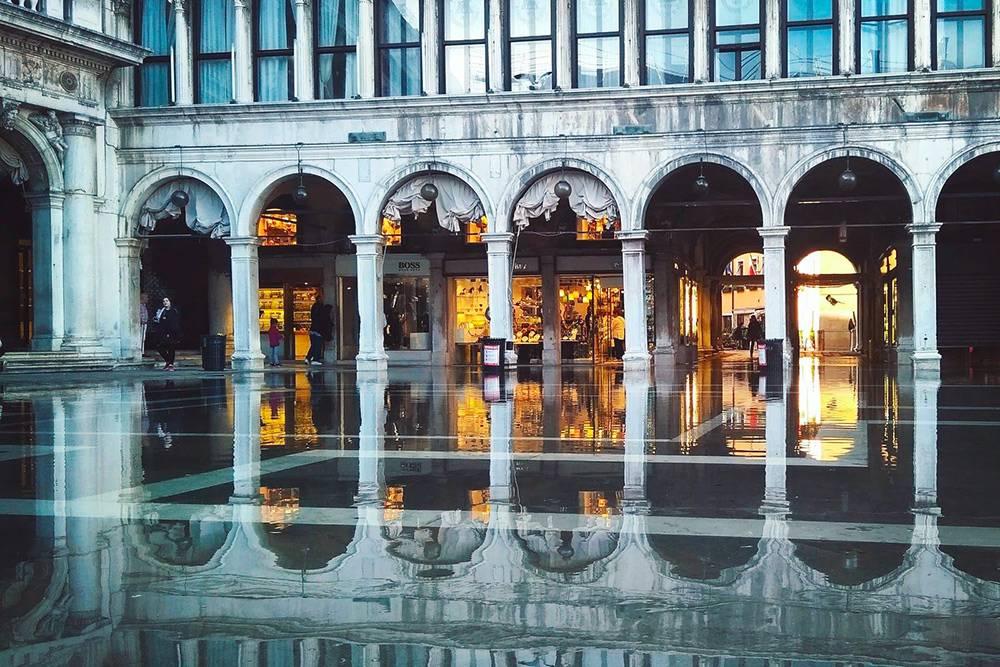 Археологический музей и музей Коррер находятся в одном здании на площади Сан-Марко. Там же, где Дворец дожей и собор Святого Марка