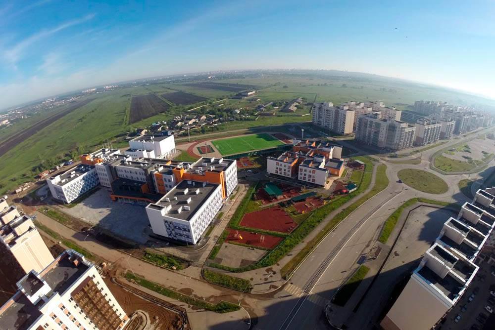 «Южный город» с высоты. Фото: n1.ru
