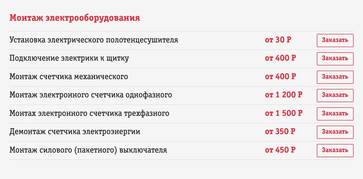 Цены на монтаж и демонтаж от частников. За замену счетчика придется заплатить от 1550<span class=ruble>Р</span>