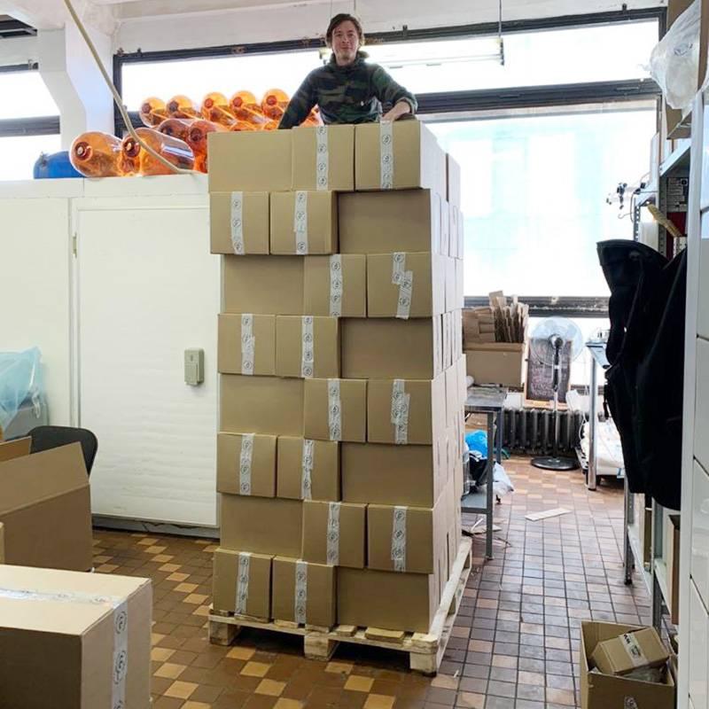 Пробная поставка комбучи «Карибу» была отправлена в десять точек, сейчас напиток представлен уже в 150магазинах сети