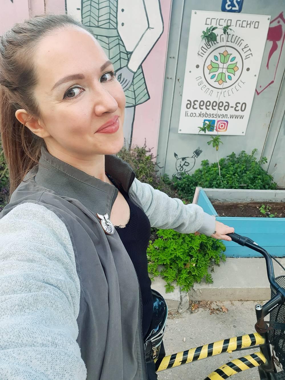 Я пользовалась велосипедом из хостела, чтобы съездить в супермаркет за продуктами