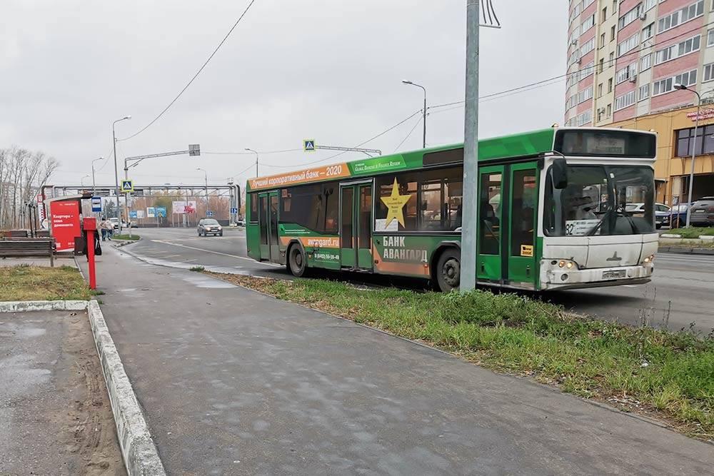 Типичный пензенский автобус
