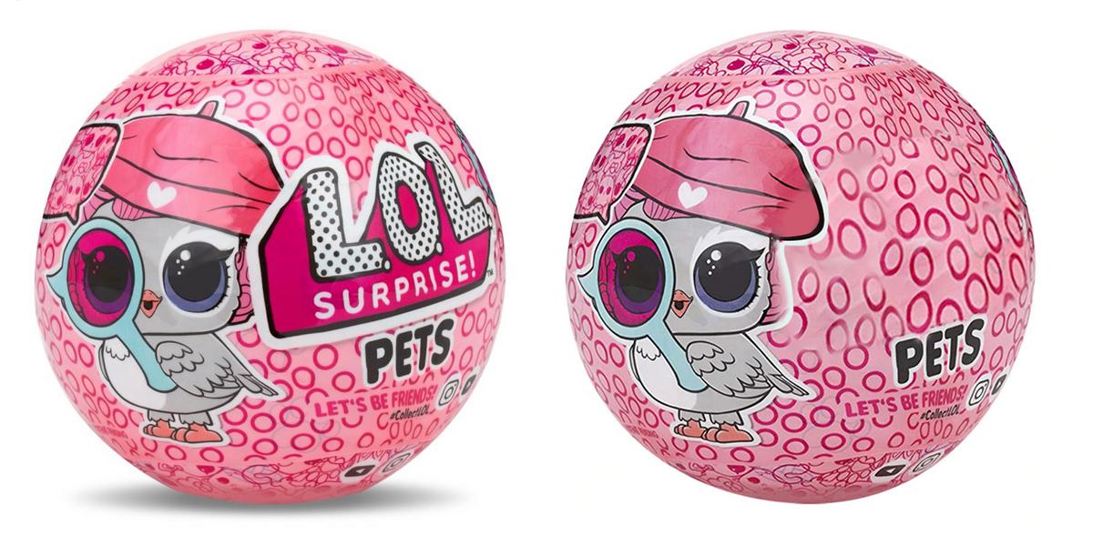 Слева — оригинал: небольшой шарик диаметром 10 см за 1500<span class=ruble>Р</span>. Справа — аналог: стоит около&nbsp;500<span class=ruble>Р</span>