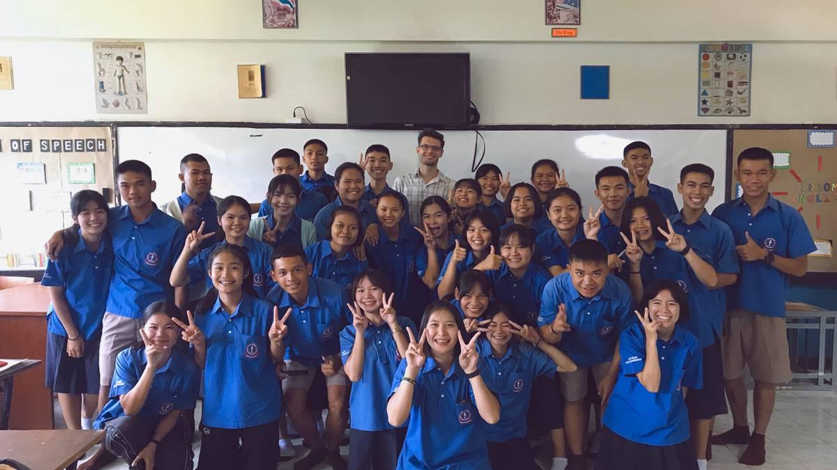 Как я работал учителем английского в Таиланде