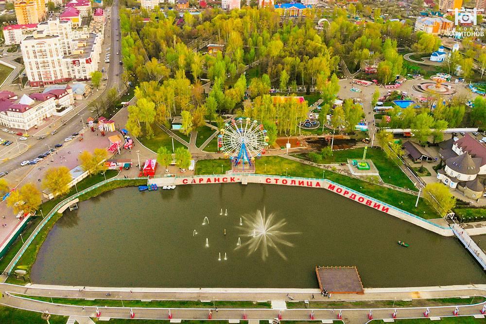Набережная реки Саранки и Пушкинский парк. Автор: Николай Харитонов
