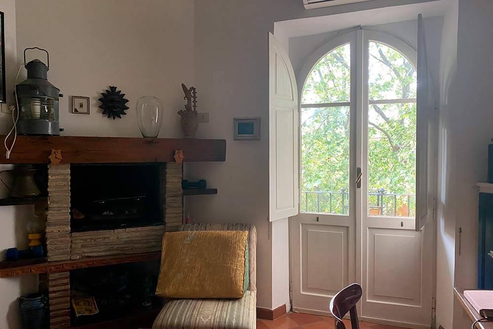 Моя квартира, комната с балконом
