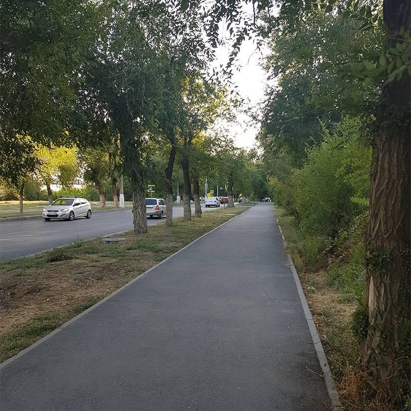 Дорога в центр города