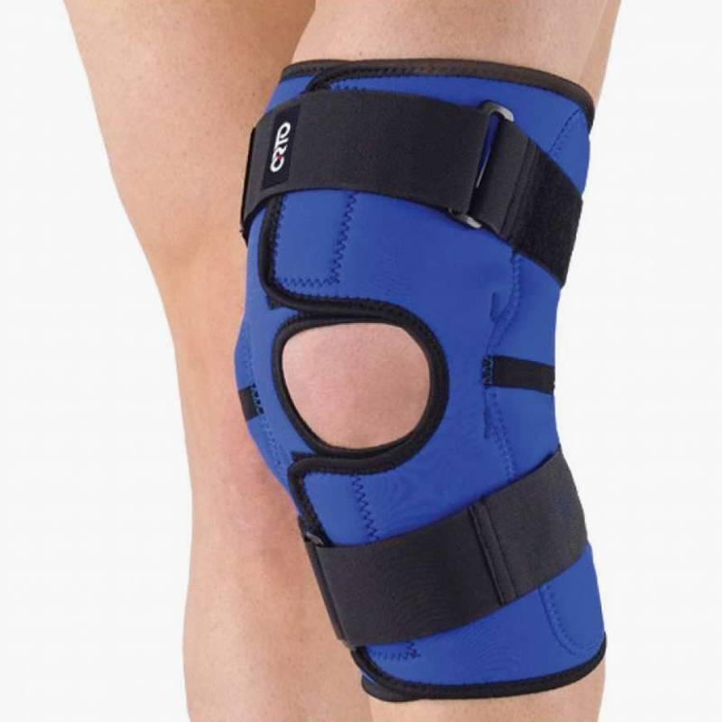 Ортез коленного сустава стоит от 3000<span class=ruble>Р</span>. Источник: «Озон»