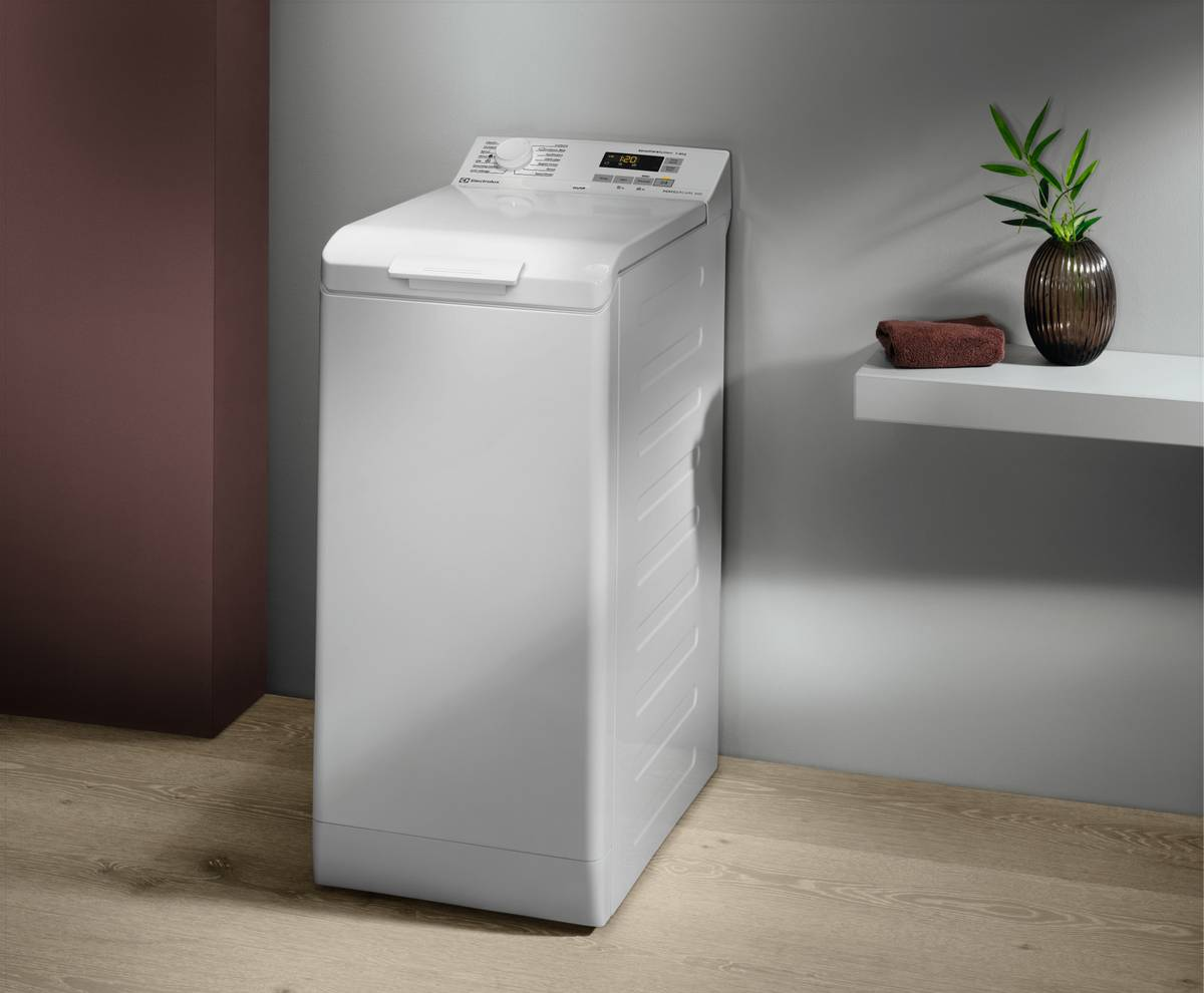 Так выглядит вертикальная стиральная машинка