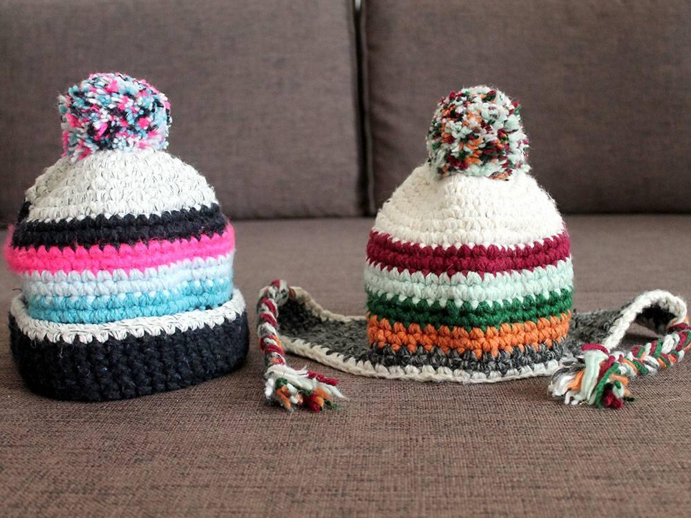 В декабре в Петербурге шапки с Мадейры сразу пригодились