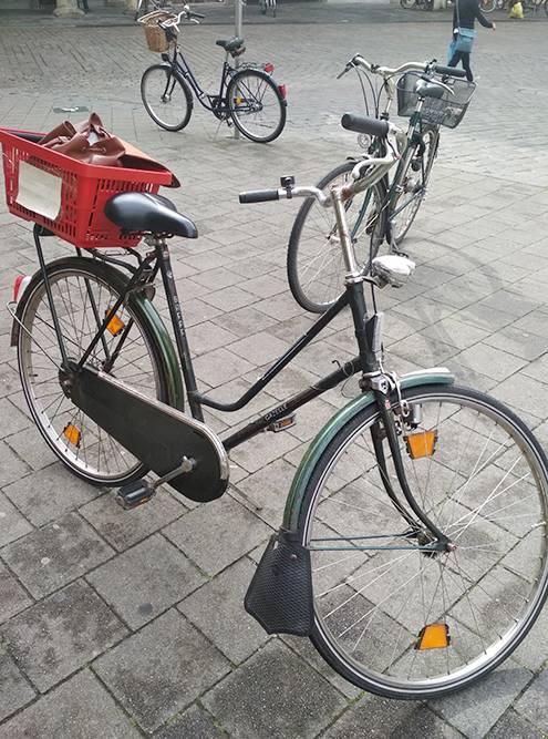 Первый велосипед у меня появился вГермании — мне его одолжил товарищ