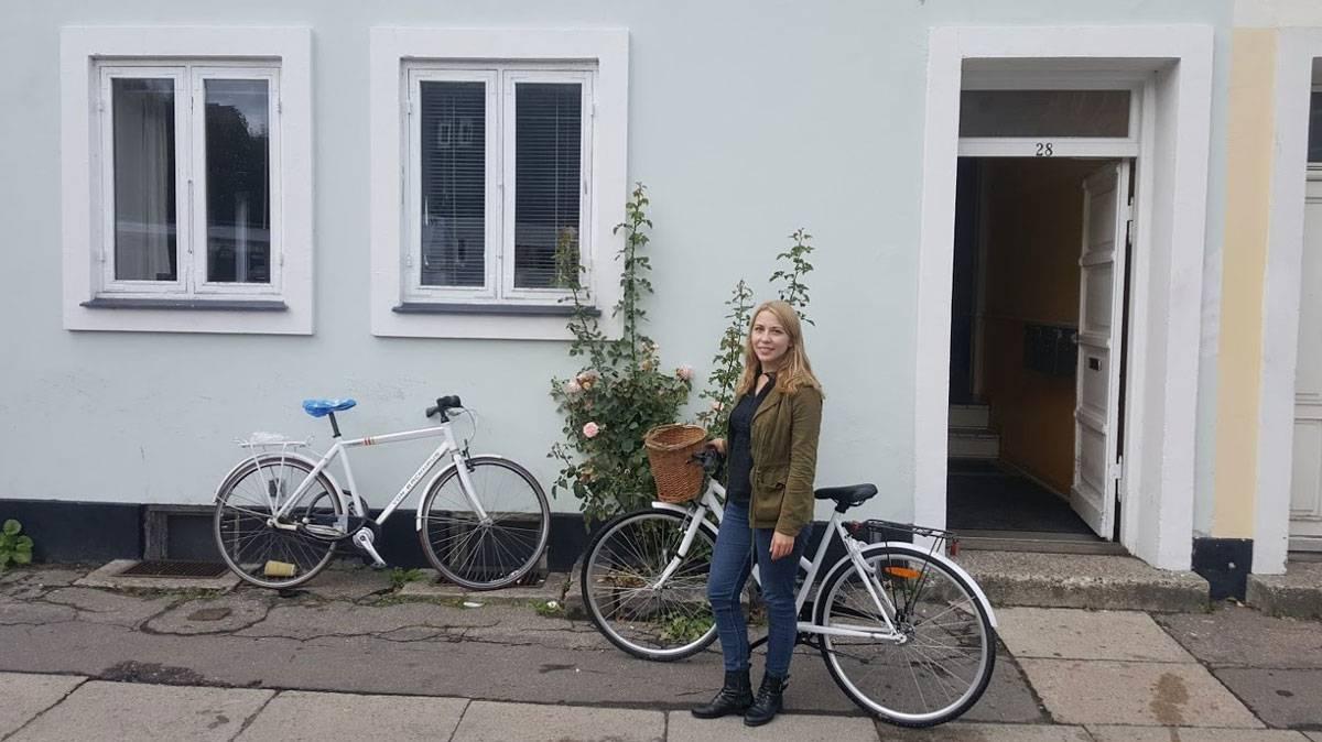 Корзинку для велосипеда я покупала отдельно