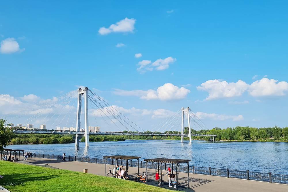 В Красноярске хочется задержаться подольше