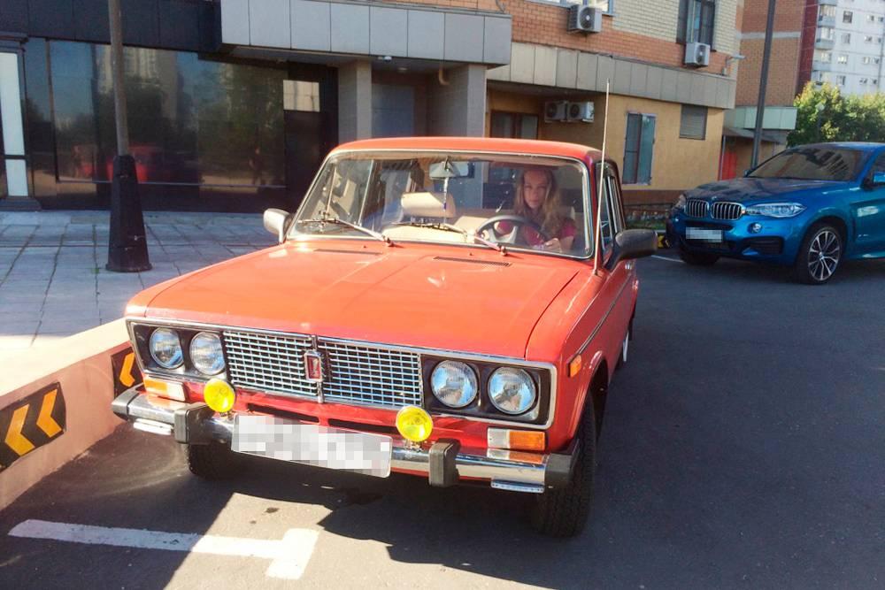 ВАЗ-2106знакомого, который помог нам с осмотром Альпины в автосалоне