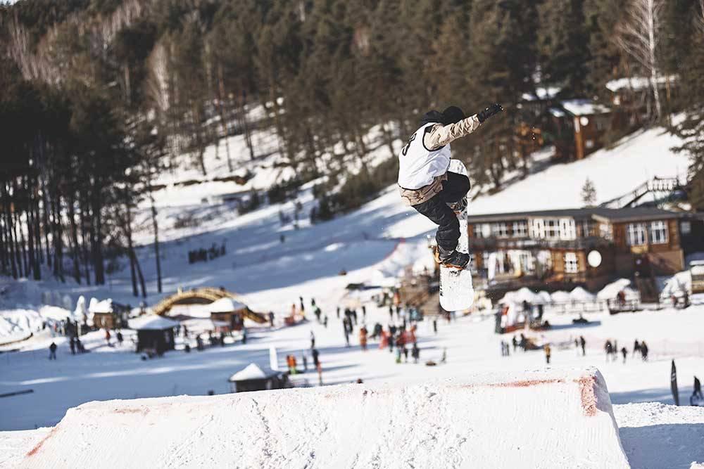 Зимой в «Кулига-парке» можно покататься на сноуборде. Источник: страница «Кулига-парка» во «Вконтакте»