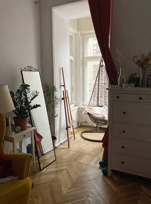 Моя нынешняя комната