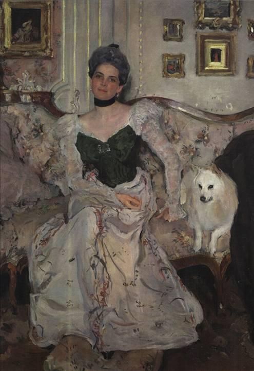 А вот такую отправлю американке, которой вынь да положь белых собачек. Купила ее в Русском музее
