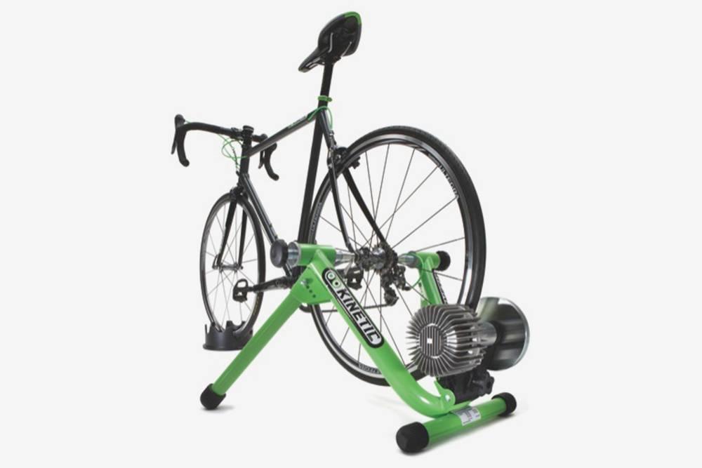 Велостанок выглядит так