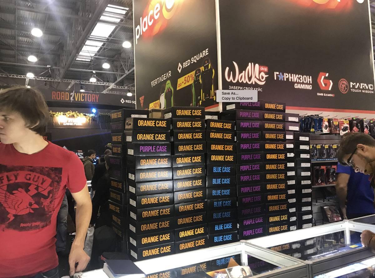За 4 дня «Комик-кона» Андрей продал 5 тысяч коробок «Луткейса»