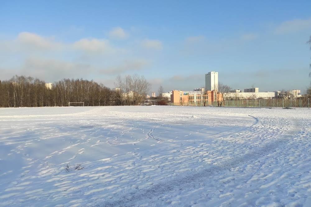 Стадион МИЭТ, где мы бегаем