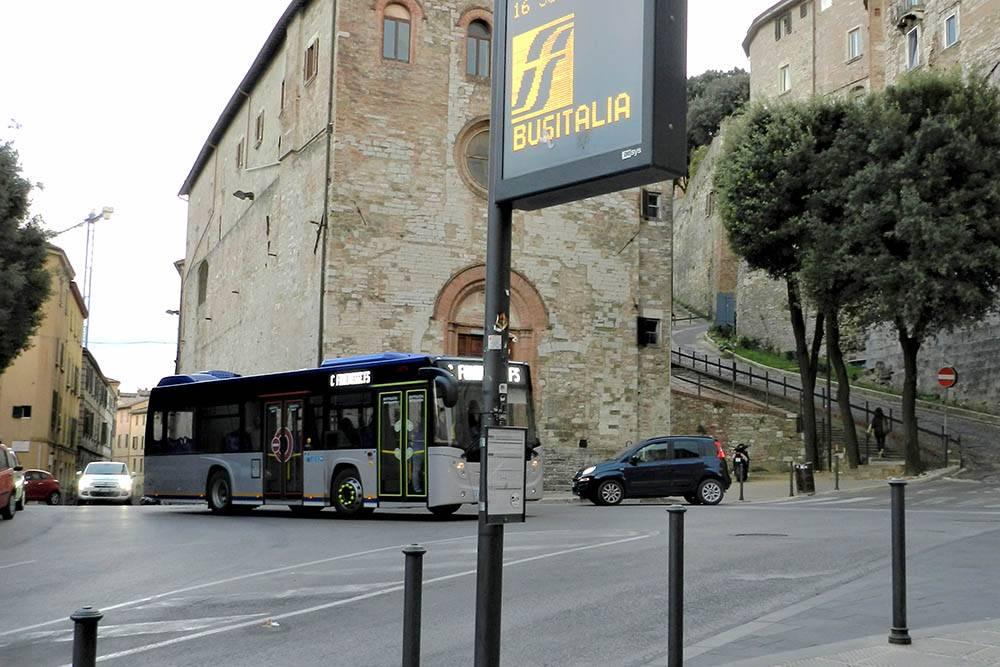 Расписание автобусов есть на специальных табличках, которые закреплены на остановках