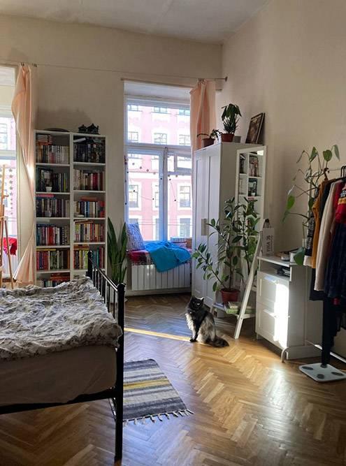 Так наша комната выглядела до ремонта