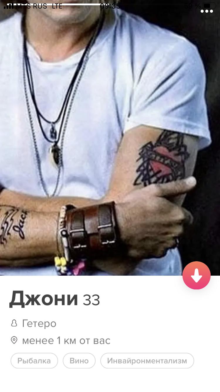 Анкета, когда ну очень любишь свои татуировки
