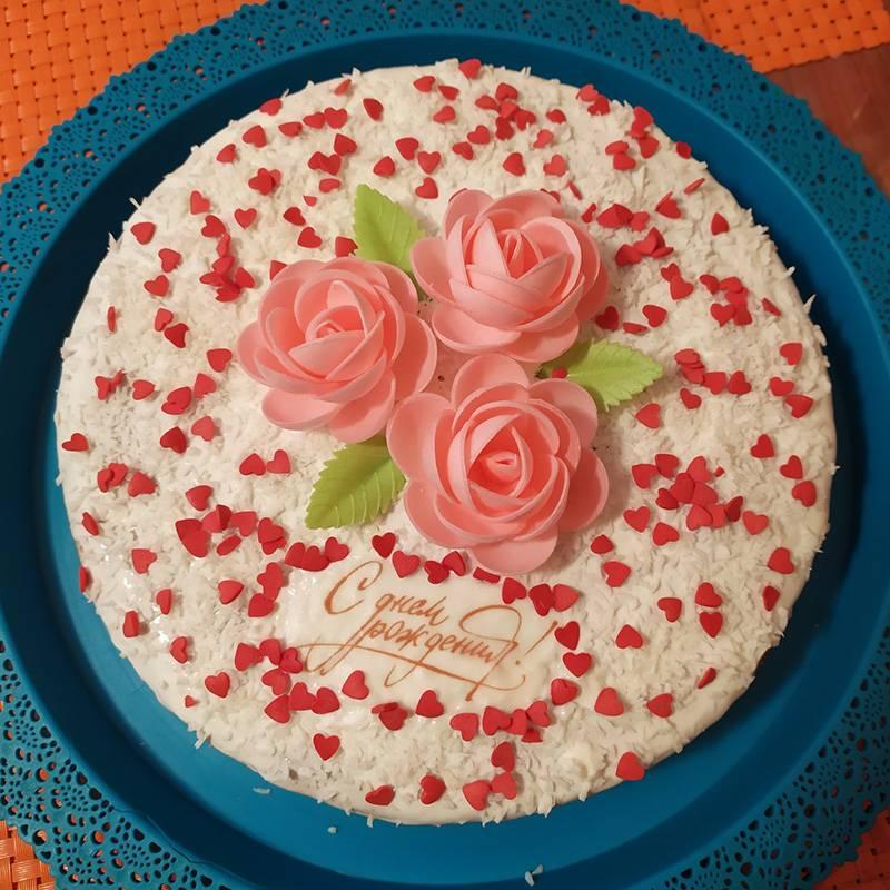 Вместе доделываем торт